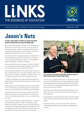 Jason's Nuts - Wellington Institute of Technology