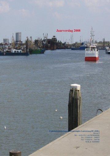 Jaarverslag 2008 - Haven Lauwersoog