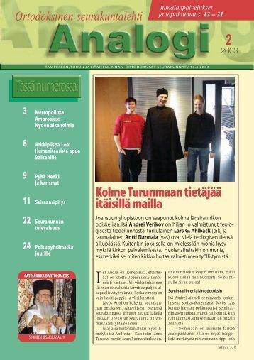 2/2003 - junes.fi