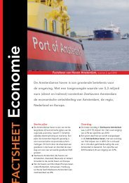 Economie - Haven Amsterdam