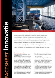 Innovatie - Haven Amsterdam