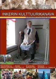 Lue uusin Kulttuurikanava - Inkeri-tiedon portaali