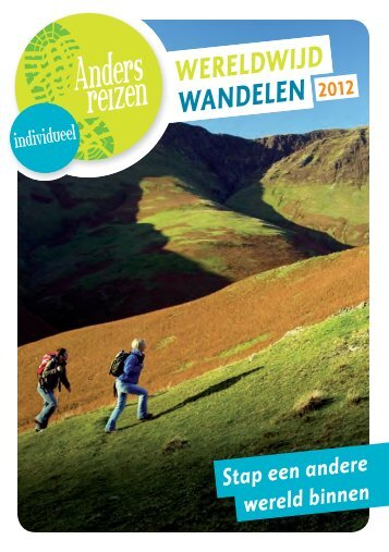 Download de brochure - Anders Reizen