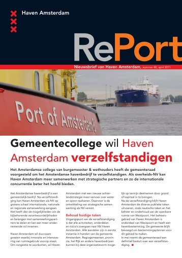 April 2011 - Haven Amsterdam