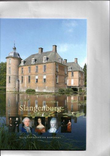 2008 - Het landgoed Slangenburg, een gaaf ... - De Warande