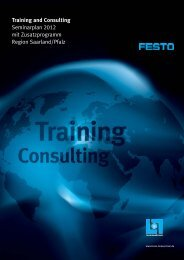Training and Consulting - Festo Lernzentrum Saar GmbH