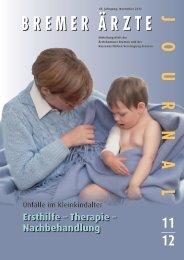 Ersthilfe – Therapie – Nachbehandlung - Ärztekammer Bremen
