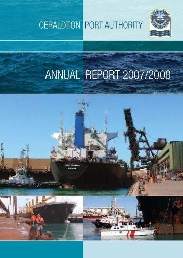 Geraldton Port Authority - Parliament of Western Australia