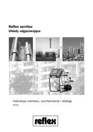 instrukcja - reflex 'servitec'