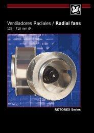 Ventiladores Radiales / Radial fans - Soler & Palau