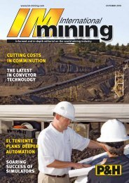 John Chadwick - International Mining Magazine