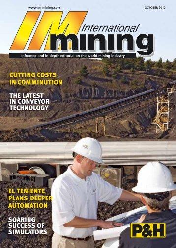 John Chadwick - International Mining Magazine