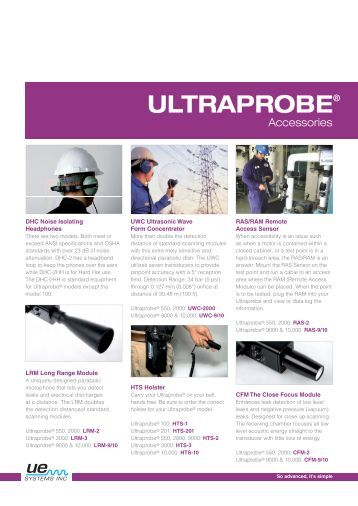 Ultraprobe 100 Alpine Components