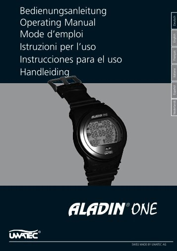 ALADIN ONE suitest - diveshop24
