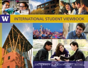 international student viewbook - UW Bothell