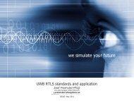 UWB - Signal Processing and Speech Communication Laboratory