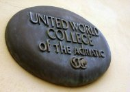 UWC Adriatic Presentation in English - United World College of the ...