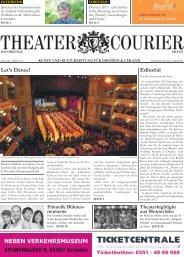 TheaterCourier - Ausgabe 2 - 18. Januar 2013