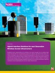 Hybrid Interface Solutions for next Generation Wireless ... - Newark