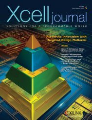 Xcell Journal: Issue 68 - Xilinx