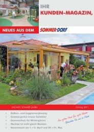 IHR KUNDEN-MAGAZIN, - Sommerdorf