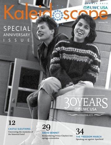 Kaleidoscope Volume 43: 30th Anniversary Issue - UWC-USA