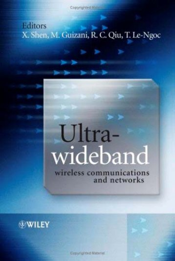 Ultra Wideband Wireless Communications and Networks.pdf