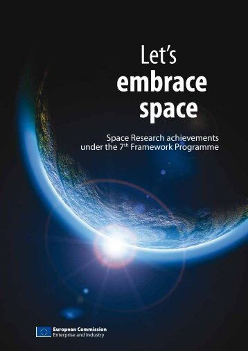 embrace space - EU Bookshop - Europa