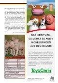 Viel Glück und Erfolg im Stall 2009 I N H A L T - Solan Kraftfutterwerk - Seite 7