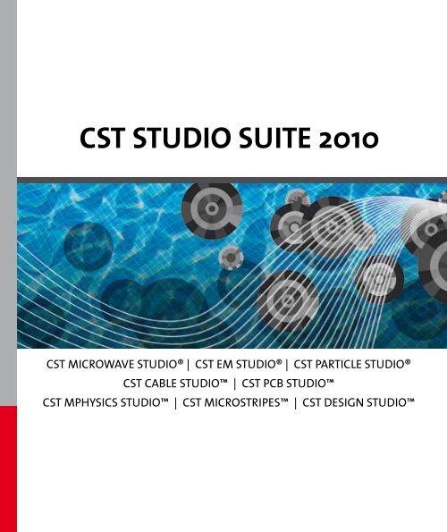 CST STudio SuiTe 2010 - CST-China