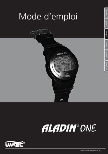 F-Aladin ONE I+II.indd - vendome plongee
