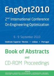 Book of Abstracts (PDF) - Departamento de Engenharia Mecânica