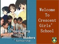 Welcome To Crescent Girls' School - heulab1 - home