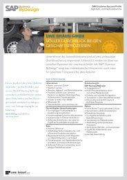 UWE BRAUN GMBH - SAP Business ByDesign