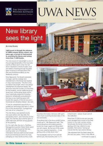 Issue 03. 2 April 2012 [PDF File, 4.6 - UWA Staff - The University of ...