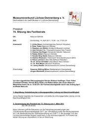 Protokoll der 74. Sitzung vom 14. April 2011 - Landkreis Lüchow ...