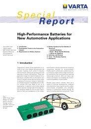 Special Report - VARTA PartnerNet UK