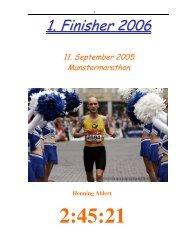 Finisher 01-2006 - Tri Team Selm