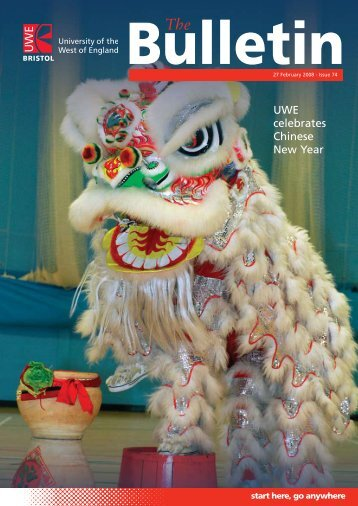 UWE celebrates Chinese New Year - University of the West of England