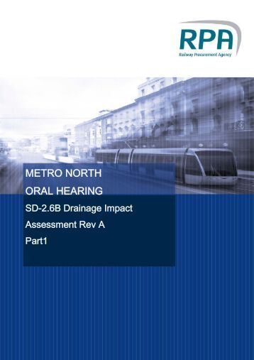Mater Stop Drainage Impact Assessment Report - the Railway ...