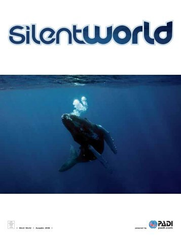 powered by | Silent World | Ausgabe 2008 | - Tauchschule Belau