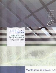 Full Comprehensive Plan - Village of Saint Cloud in Fond du Lac