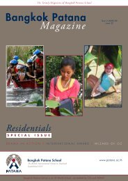 Residentials - Bangkok Patana School