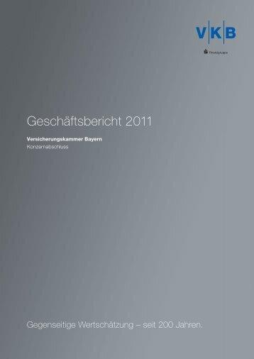 Geschäftsbericht 2011 - Geschäftsberichte 2011 ...