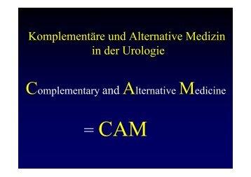Komplementäre und Alternative Medizin in der Urologie - 12. Seminar