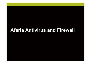 Afaria AntiVirus & Firewall