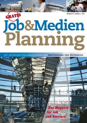 Jahrgang 18 - Ausgabe 5 - 2009 - Jobs und Stellenangebote aus ...