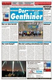 Der ÄrzteSpiegel 2013. - Der BurgSpiegel / Der Genthiner