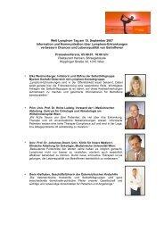 Welt Lymphom Tag - Österreichische Krebshilfe