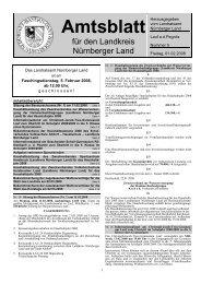 Amtsblatt - Landkreis Nürnberger Land